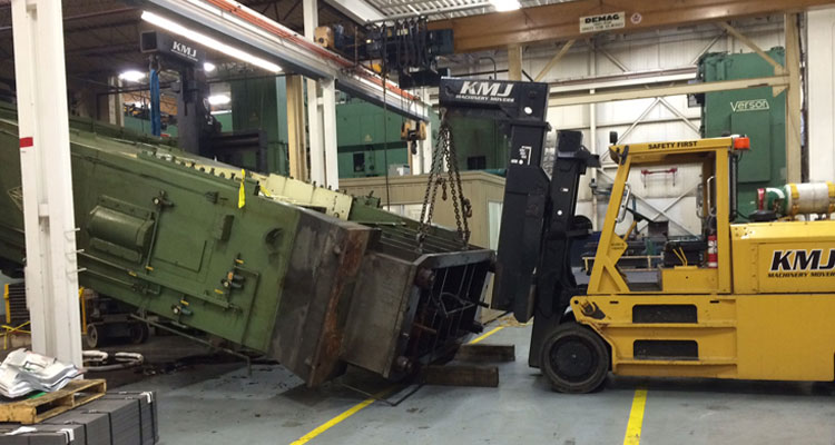 KMJ Machiney Movers - Automotive Stamping Press