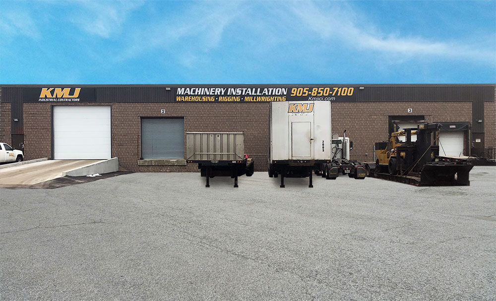 Machinery Storage Brampton, Ontario